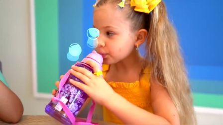 美国儿童时尚,宝爸送小女孩新裙子,快来看看吧