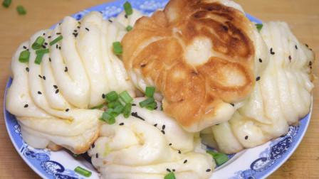 这才是花卷最简单好吃的做法,不蒸不烙,松软好吃,想吃都买不到