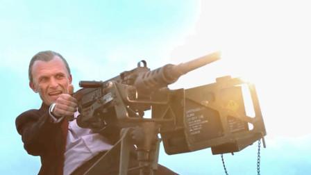 伤疤男真够狠,直接干掉狙击手,还想干飞机!