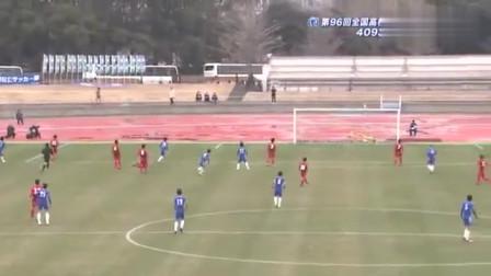 日本高中生这进球,感觉完全就是少林足球的大力金刚腿啊