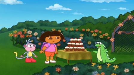 朵拉:朵拉马不停蹄赶来帮助丽萨,杯子蛋糕大家一饱口福