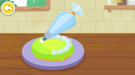 给面包抹上奶油,会变成蛋糕吗?宝宝巴士游戏