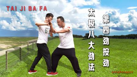 太极拳八法4:按劲!内家拳超实用技能,发挥意想不到的效果