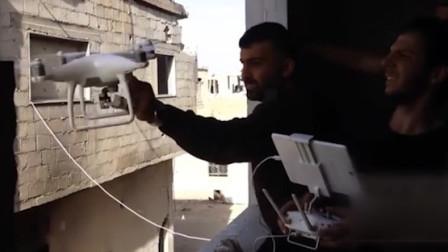 实拍叙利亚战场画面,无人机从哪淘来的?