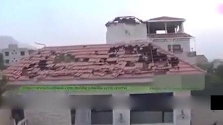 实拍叙利亚战场画面,豪华别墅变得千疮百孔!