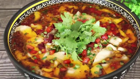别在做酸菜鱼了,试试这道红红火火的豆花鱼,鱼肉嫩滑似豆腐!
