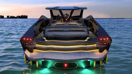 """兰博基尼打造""""海上超跑"""",搭载两台V12发动机,售价超2370万!"""