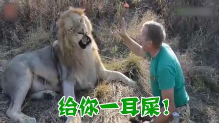 四川话爆笑配音:一个敢打狮子耳光的男人