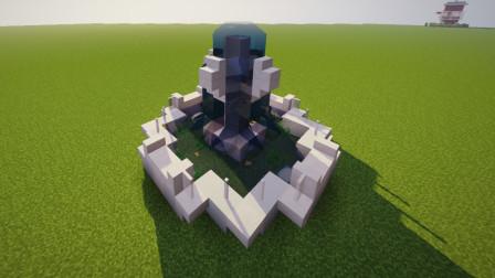 我的世界:小喷泉