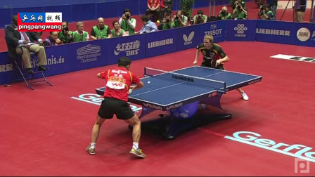 20120402世乒男团决赛 中国vs德国 第3盘 王皓vs鲍姆 乒乓球赛