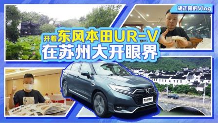 胡正阳的Vlog,开着东风本田UR-V在苏州大开眼界-老司机出品