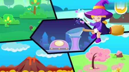 宝宝巴士奇妙大冒险—奇妙逻辑冒险,寻找火凤凰的火焰宝石