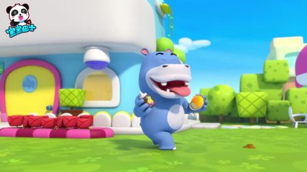宝宝巴士美食总动员:你没玩过的玩具:面包售卖机,壮壮玩嗨了