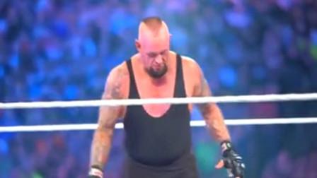 WWE:大布最幸运的一场比赛,原本输定了,结果侥幸击败送葬者!