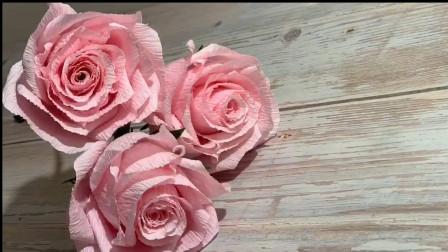 学会折玫瑰花只需2分钟,你学会了吗?