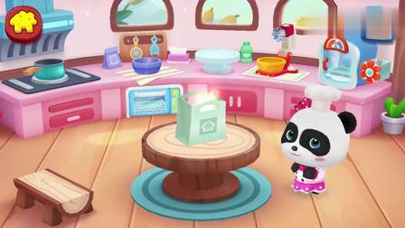 宝宝巴士美食屋:早餐你吃了吗?来奇妙蛋糕店,妙妙做面包和披萨