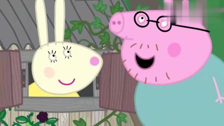 小猪佩奇:咖啡馆还开着,佩奇和乔治吃到了冰淇淋,非常好吃!