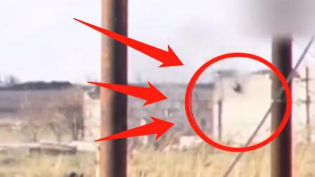 """实拍叙利亚战场画面,兄弟,有""""东西""""朝我们飞过来!"""