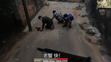 真人版吃鸡:队友拔雷冲向敌人,自杀式炸倒两个敌人,结果凉了!