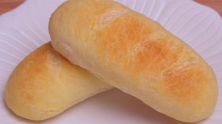 懒人版欧式脆皮软面包,不用揉面,更不用揉出膜,无糖少油更健康