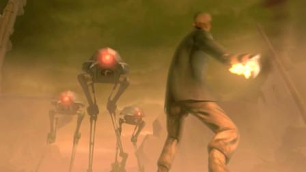 国家将大量机器人投入战争,人类世界几乎被毁灭《机器人9号》