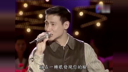 张学友现场清唱《吻别》,那时候的歌神,也算得上翩翩公子!