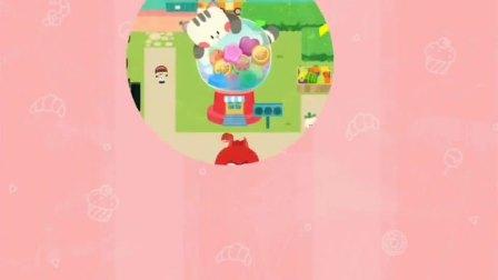 奇妙五彩糖果店,奇奇能做出不同形状的糖果吗?宝宝巴士游戏