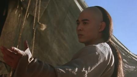 严振东大战黄飞鸿,铁布衫终是不敌佛山无影脚,被黄飞鸿打个半