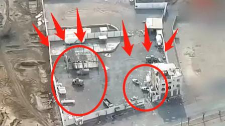 实拍叙利亚战场画面,被无人机安排的明明白白!