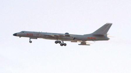 """官方首次公开轰-6J,变身""""航母杀手""""?美国人:中国领海将成禁区"""