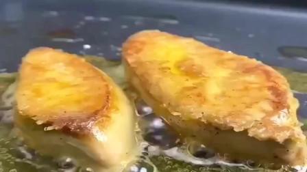 法国鹅肝配鱼子酱和新鲜水果汁,那味道简直大爱!