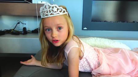 美国儿童时尚,宝爸送小女孩新裙子,好漂亮