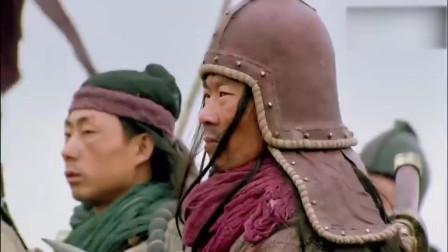 新水浒传:小李广花荣的箭法果然名不虚传,几箭直接射到对面投降!