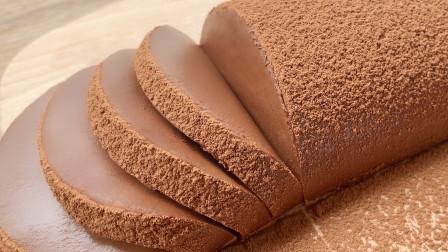 一吃就胖,一做就废,丝滑浓郁,婴儿般触感的巧克力慕斯