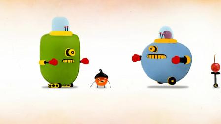 《毛线球闯关》前方机器人拦路,毛线驾驶机器人对决!