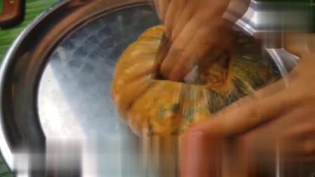 夏日最解暑南瓜椰丝冻,吃起来像在吃慕斯蛋糕,一眼就爱上