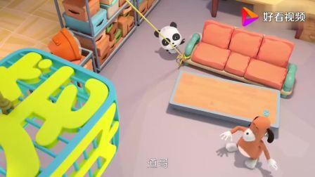 宝宝巴士:道哥的月饼会自己动,原来是小蚂蚁在搬啊!