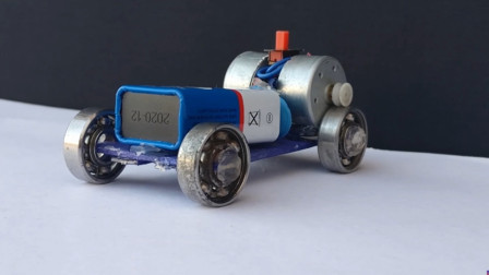 YouTube视频:如何使用轴承在家里制造一辆迷你车-强大的电动汽车