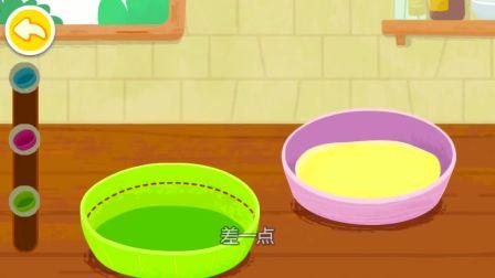 面包涂上奶油,真的很不错呢。宝宝巴士游戏(2)