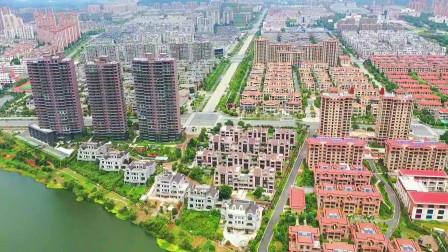 航拍江苏镇江丹徒区,这别墅成片成片的,看来他们是真的富了!