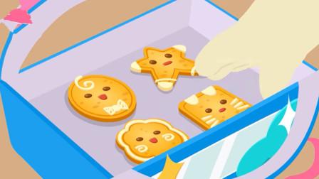 宝宝农场 妙妙制作可爱的面包饼干~宝宝巴士游戏