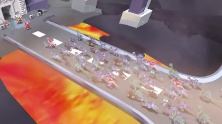 时空龙骑士:霸王龙就是霸气,用脚踹坏蛋的车