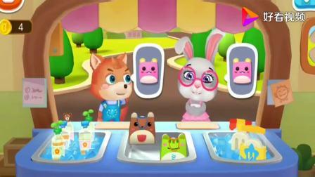 宝宝冰淇淋工厂,乐乐想买草莓味冰淇淋,宝宝巴士游戏(1)