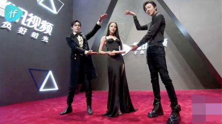 《长歌行》迪丽热巴、吴磊、刘宇宁红毯造型,热巴妩媚动人超惊艳~