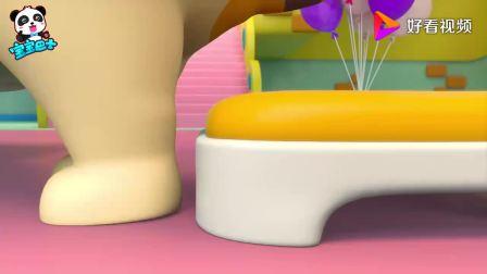 宝宝巴士:妈妈过生日了,家里布置的好漂亮呀,还有超级大蛋糕呀