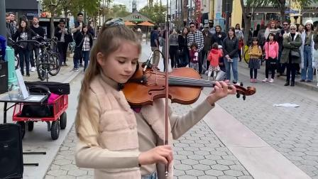 小妹妹Karolina小提琴演奏《My Heart Will Go On》