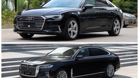 40万预算,奥迪A6 L与红旗H9到底怎么选?两款车开起来怎么样?