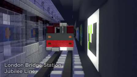 我的世界动画-伦敦地铁模仿-CraftyFoxe