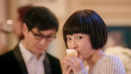 看白百何吃蛋糕太香了,甜品是女生的最爱!