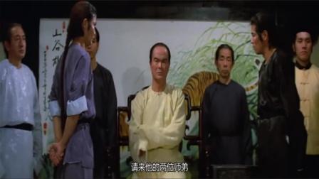 洪拳与咏春:香港邵氏功夫片,传奇演员梁家仁,当年也是玉树临风